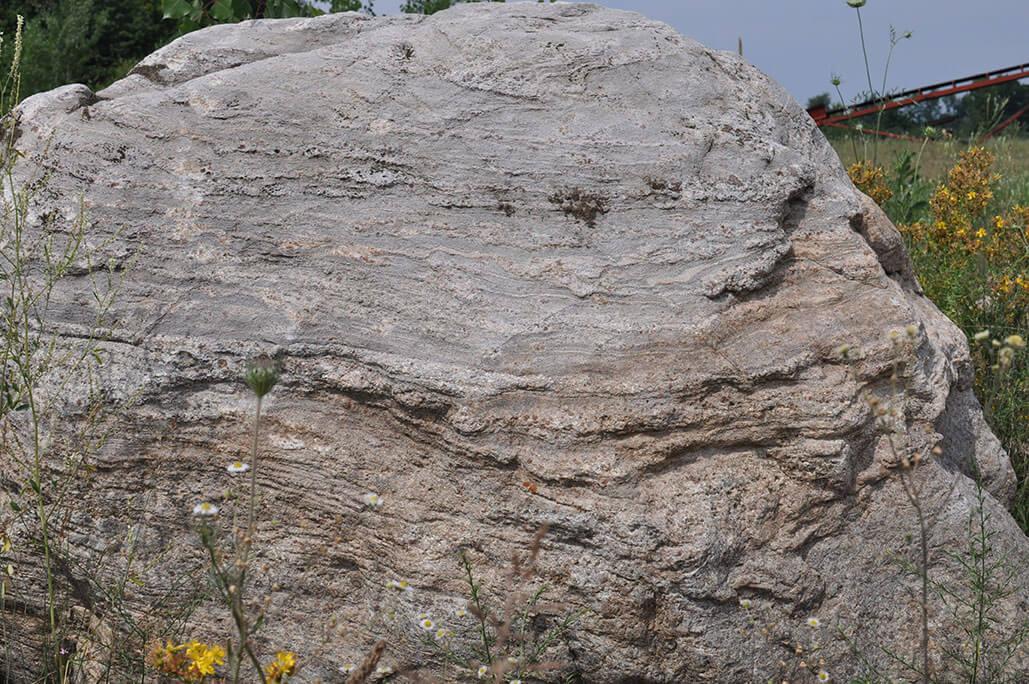 Rochester NY Landscape Boulders