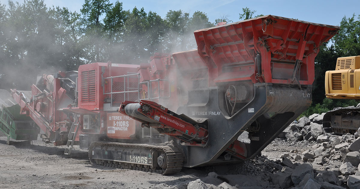 Portable Stone Crushing Rochester NY | Smith's Gravel Pit